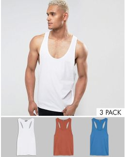 Vest With Extreme Racer Back 3 Pack Save