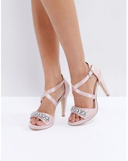 By Dune Maisy Embellished Heeled Sandals