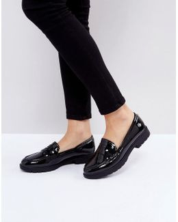 By Dune Gemm Tassel Loafers