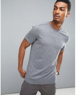 360 Sports T-shirt In Grey Marl