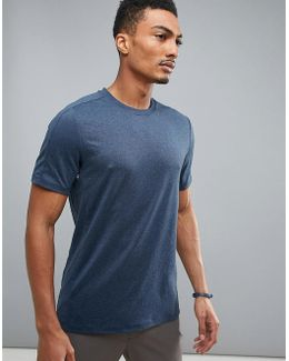 360 Sports T-shirt In Navy Marl
