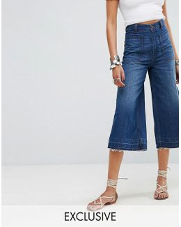 Dawn To Dusk Crop Flare Jean