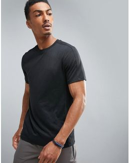 360 Sports T-shirt In Black Marl