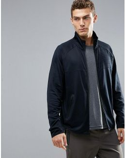 360 Runner Track Jacket In Black
