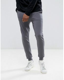 Extreme Super Skinny Joggers In Grey