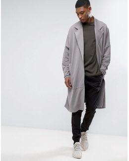 Extreme Oversized Longline Jersey Duster Coat