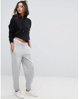 Jeans Jogger With Logo