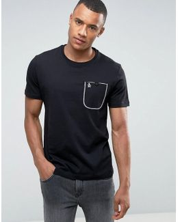 Flat Lock Pocket T-shirt