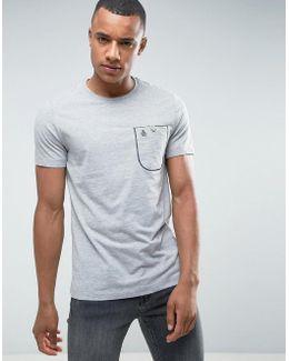 Flat Lock Pocket T-shirt