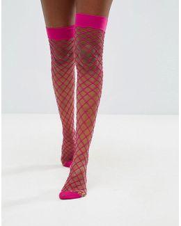 Oversized Fishnet Stockings
