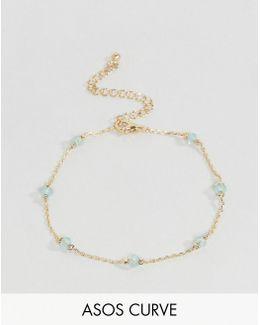 Fine Stone Station Chain Bracelet