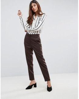 Soren Wool Blend Tailored Trousers