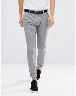 Pants In Marl Cotton