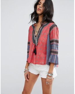 But I Like It Printed Blouse