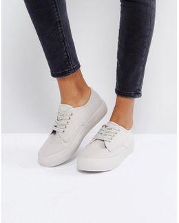 Flatform Plimsole Sneaker