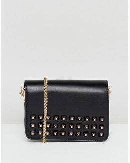 Stud Detail Mini Cross Body Bag