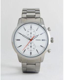 Fs5346 Townsman Chronograph Bracelet Watch In Silver