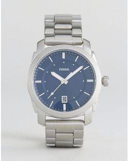Fs5340 Machine Bracelet Watch In Silver