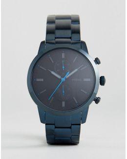 Fs5345 Townsman Chronograph Bracelet Watch In Blue