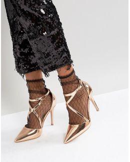 Mesh Sheer Ankle Socks
