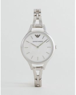 Ar11054 Bracelet Watch In Silver