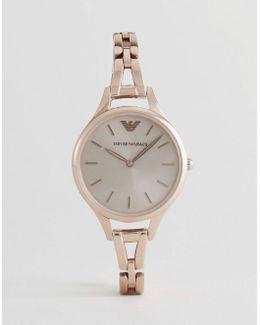 Ar11055 Bracelet Watch In Rose Gold