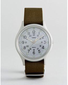 Mk1 Aluminium Watch In Green