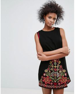 Park Lane Embroidered Dress