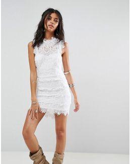 Daydream Bodycon Lace Dress