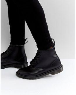 101 Br 6 Eye Triple Black Boots