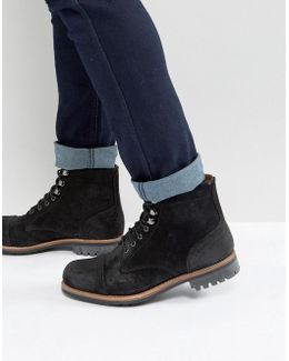 Radley Suede Lace Up Boots