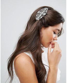 Bridal Ornate Crystal Hair Comb