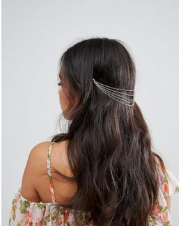 Layered Chains Back Hair Crown