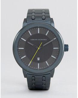 Ax1458 Bracelet Watch In Blue