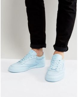 Club C 85 Elm Trainers In Blue Bs7804