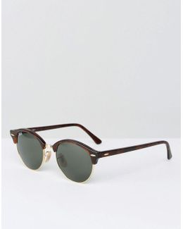 Rayban Clubmaster Sunglasses 49mm