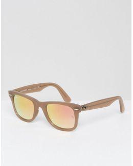 Wayfarer Sunglasses 0rb4340 Improved Fit