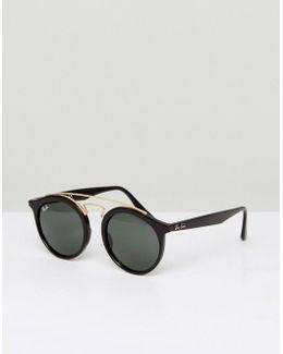 Round Gatsby Sunglasses 0rb4256