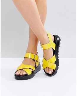 Find Me Chunky Flat Sandals