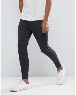 Jogger In Slim Fit With Tech Zip Details