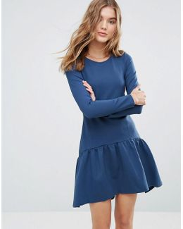 Closet Long Sleeve Pephem Dress