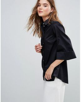 Closet Wide Sleeve Shirt