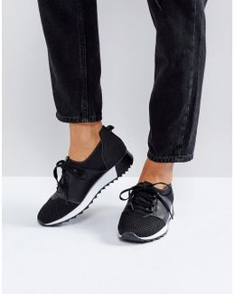 Lace Up Runner Trainers