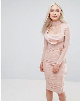 Long Sleeve Slinky Dress
