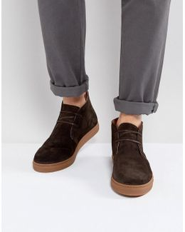 Dempsey Suede Chukka Boots In Brown