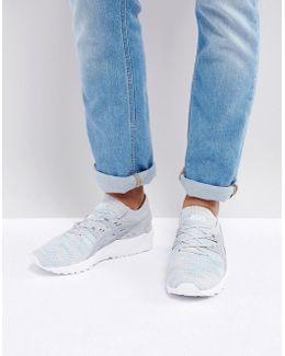 Gel-kayano Sneaker Knit Lo Sneakers In Grey Hn7m4 9696