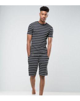 Tall Pyjama Set With Stripes