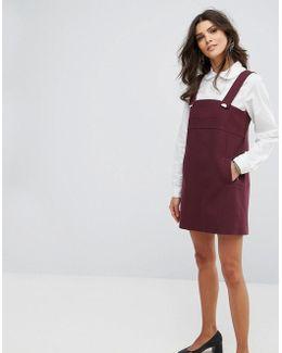 Pini Detail Mini Dress
