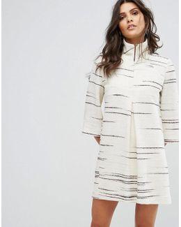 Oversized Graphic Print Dress