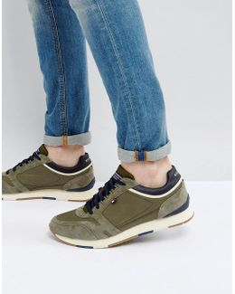 Leeds Sneaker In Khaki